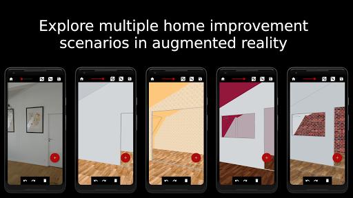 Floor plan - Home improvements in AR - Wodomo 3D 01.03.02 Screenshots 1
