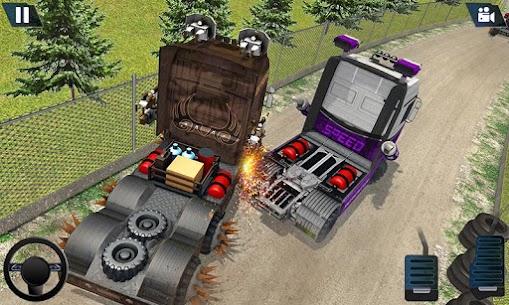 Semi Truck Crash Race 2021: New Demolition Derby 6