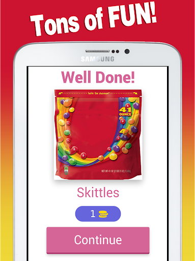 Candy Quiz - Guess Sweets, chocolates and candies 8.8.3z screenshots 6
