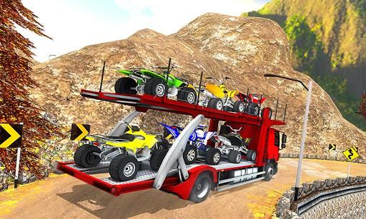 Vehicle Transporter Trailer Truck Game  screenshots 5
