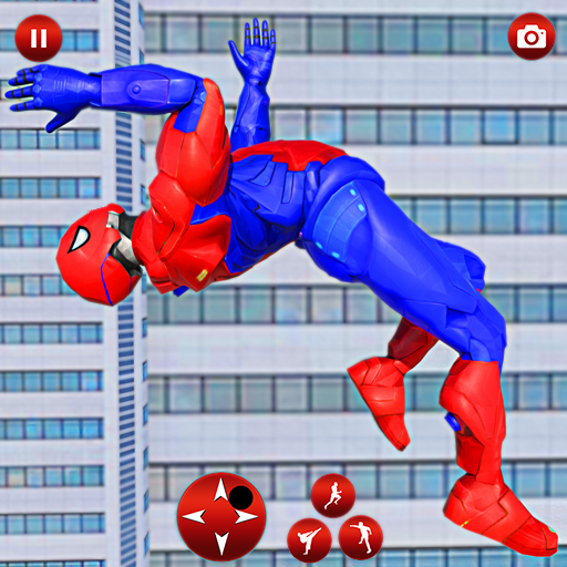 Police Robot Speed Superhero Rescue Mission Games