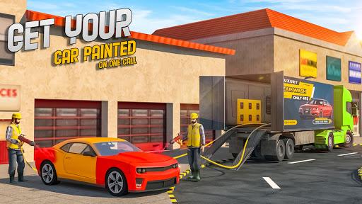 Mobile Car Wash Workshop: Service Truck Games 1.24 Screenshots 2