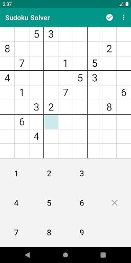 Sudoku Solver 3.2-25 screenshots 1