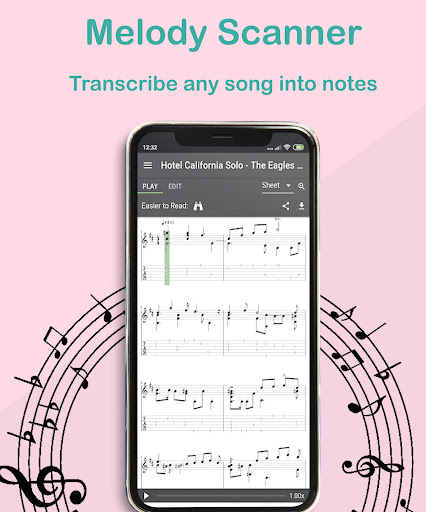 Melody Scanner - Audio to Sheet Music ud83cudfb9ud83cudfb5 modavailable screenshots 2