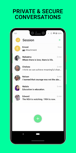 Session - Private Messenger screenshots 1