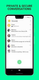 Session – Private Messenger Mod 1.7.3 Apk (Unlocked) 1