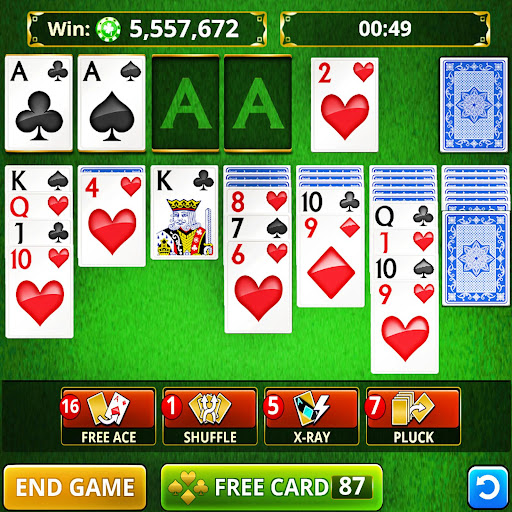 SOLITAIRE CARD GAMES FREE! apkmartins screenshots 1