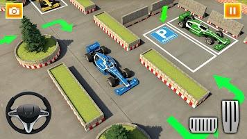Formula Car Parking Car Games