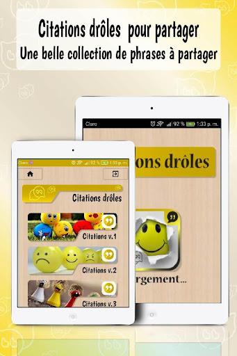 Citations Droles Gratuites Et Mots Droles Download Apk Free For Android Apktume Com