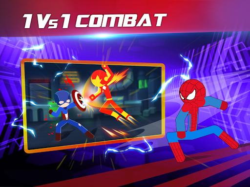 Super Stickman Heroes Fight 2.2 screenshots 11