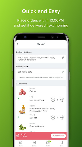 bbdaily: Online Daily Milk & Grocery Home Delivery 5.0.34 screenshots 3