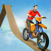 Impossible Bike Track Stunt Games 2021: Free Games