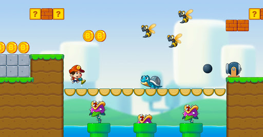 Super Jack's World - Free Run Game  screenshots 3