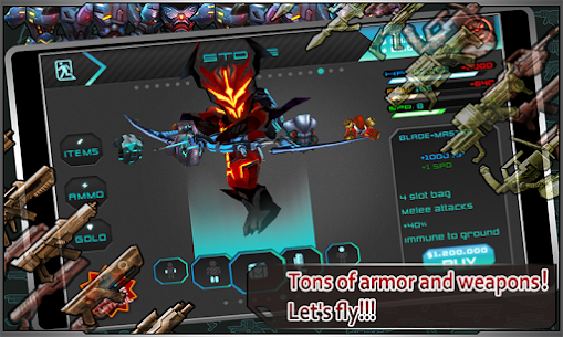 Star Warfare: Alien Invasion HD Mod Apk (God Mode + Unlimited Money) 10