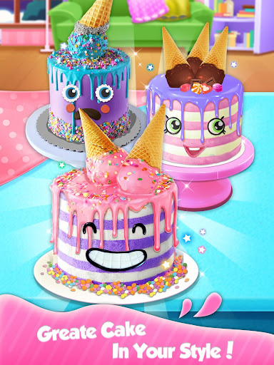 Ice Cream Cone Cake - Sweet Trendy Desserts screenshots 3
