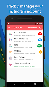 Unfollow for Instagram Free 3.3 Download Mod Apk 1