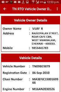 TN RTO Vehicle Owner For Pc, Windows 10/8/7 And Mac – Free Download (2021) 2