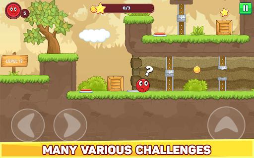 Bounce Ball 5 - Jump Ball Hero Adventure 3.9 Screenshots 12