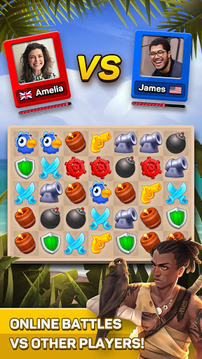 Pirates & Puzzles - PVP Pirate Battles & Match 3  screenshots 11
