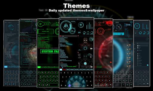 Hacker Launcher -- Aris Theme 4.2.4 Screenshots 2