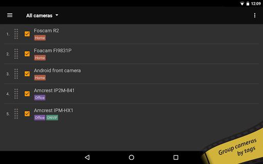 tinyCam PRO - Swiss knife to monitor IP cam  screenshots 16