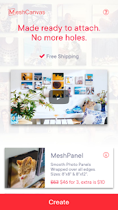 Canvas Prints and Photo Tiles by MeshCanvas® 1.0.245 APK + MOD Download Free 1