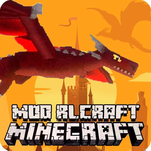 Dragon Mod RLCraft - Real Life Mode for MCPE 2021