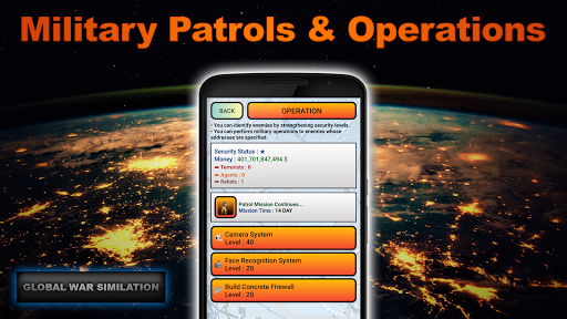 Global War Simulation Lite Strategy War Game v23 LITE Screenshots 7