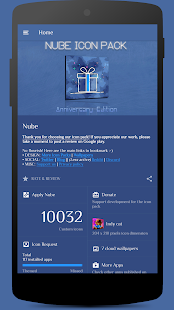 Nube  Free Icon Pack Screenshot