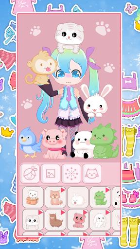 Chibi Avatar: Cute Doll Avatar Maker apktram screenshots 5