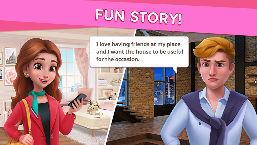 Sweet Home : Design & Blast apkpoly screenshots 17