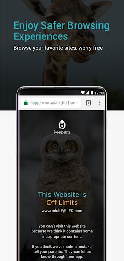 Keepers - Parental Control & Location Tracker App  Screenshots 8