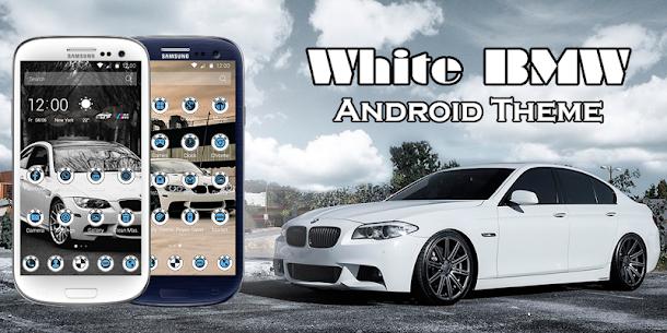 White BMW Theme  For Pc [free Download On Windows 7, 8, 10, Mac] 1