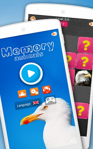 Memory Game: Animals android2mod screenshots 1