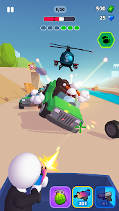 Rage Road Mod Apk- Car Shooting Game (Unlocked All Items) 1