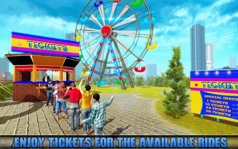 Theme Park Swings Rider: For Pc 2021 (Windows 7/8/10 And Mac) 2