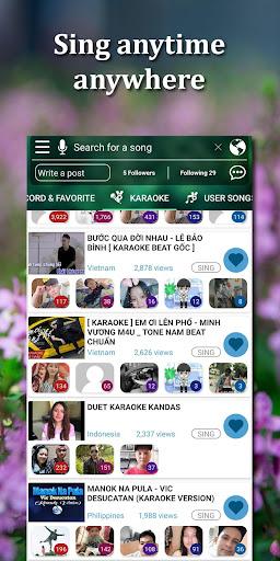 Kakoke - sing karaoke, voice recorder, singing app  screenshots 1