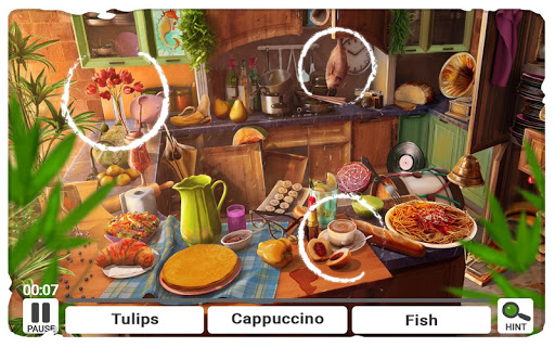 Hidden Objects Messy Kitchen – Cleaning Game  screenshots 1