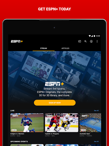 ESPN android2mod screenshots 17
