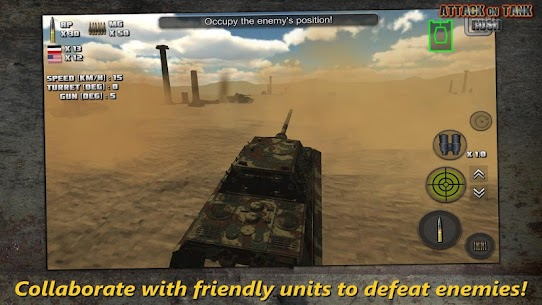 Attack on Tank : Rush – World War 2 Heroes Mod Apk 3.5.1 (Unlimited Money/Gold) 3