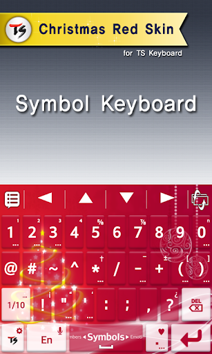 Christmas red for TS keyboard For PC Windows (7, 8, 10, 10X) & Mac Computer Image Number- 7