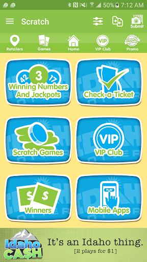 idaho lottery screenshot 1
