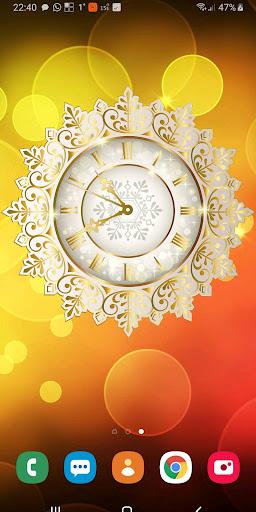 christmas clockfaces pro for battery saving clocks screenshot 3