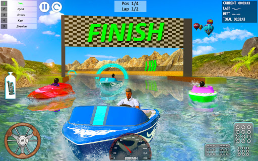Xtreme Boat Racing 2019: Speed Jet Ski Stunt Games screenshots 1