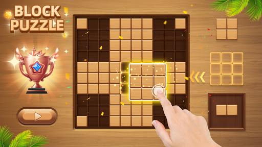 Wood Block Puzzle - New Block Puzzle Blast Game  screenshots 1