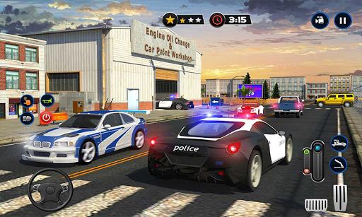 Police Car Wash Service: Gas Station Parking Games 1.4 screenshots 5