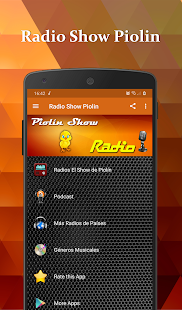 Piolin Show Radio Screenshot