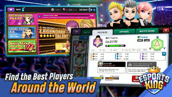 Esports King: Esports Manager Simulation