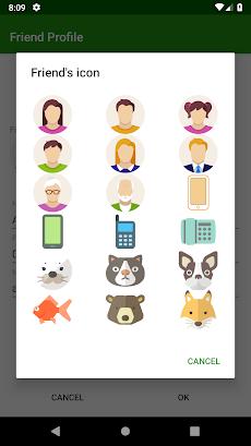 クイック電話 - シンプル電話帳のおすすめ画像4