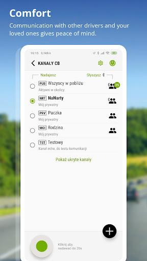 AutoMapa - GPS navigation, CB Radio, radars 5.8.5 (3442) Paidproapk.com 2